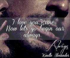 Kindle Alexander - Always Love this!