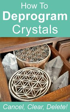 Crystal Healing Guide: How to deprogram a crystal. Easy step by step crystal healing guide by Ethan Lazzerini.
