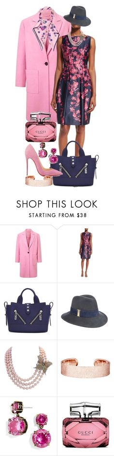 """Make Room for Style"" by quirico ❤ liked on Polyvore featuring Miss Selfridge, David Meister, Kenzo, Christian Louboutin, Eugenia Kim, BaubleBar, Gucci and Nina Ricci"