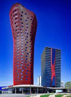 Porta Fira Towers   Barcelona, Spain   Toyo Ito