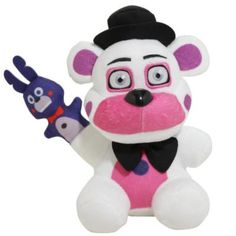 "white 7/""  RARE Funko Five Nights At Freddy/'s Mangle Plush Funtime Foxy Fun Time"