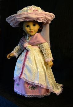 Edwardian Tea Gown for 18American Girl by LuminariaDesigns on Etsy, $110.00