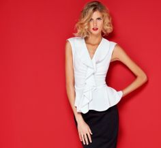 La collection White Shirt de Carolina Herrera