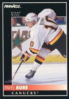 1992-93 Pinnacle #110 Pavel Bure Front