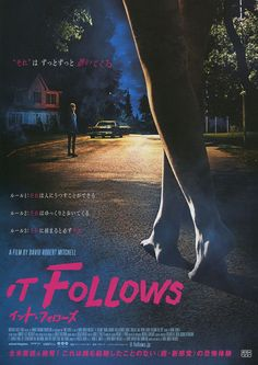 Directed by David Robert Mitchell.  With Maika Monroe, Keir Gilchrist, Olivia Luccardi, Lili Sepe. A young woman is followed by an unknown supernatural force after a sexual encounter.