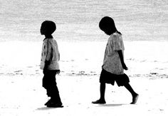 Passeggiando sulla spiaggia