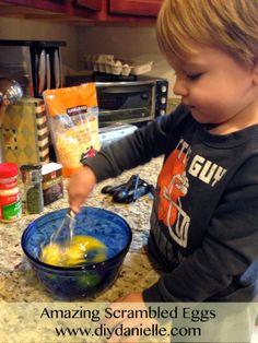 My scrambled egg recipe!