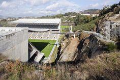 The Braga Municipal Stadium located in Portugal
