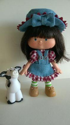 Blackberry Buckle and Vanilla Moo Antique Toys, Vintage Toys, Vintage Strawberry Shortcake Dolls, Barbie, Retro Food, My Family History, Retro Recipes, Custom Dolls, The Good Old Days