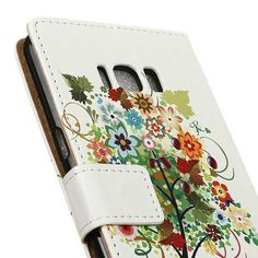 Etui Samsung Galaxy S8,housse folio arbre pour Samsung Galaxy S8 Sam_cas730055