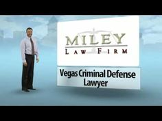 Edward R. Miley and his law firm (http://mileylaw.com) of Las Vegas criminal defense lawyers are here to serve you in various areas of well-practiced counsel. When looking for the proper criminal defense attorney in Las Vegas, you need experience, knowledge and professionalism. Miley Law Firm makes sure to provide optimal assistance in areas like personal injury, corporate, DUI and motor vehicle accidents.