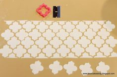 Jessicakes: Moroccan Cake + A Wafer Paper Flower Tutorial