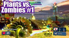 Plants Vs Zombies Garden Warfare Gameplay Part 1 Online Co Op PS4