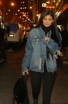 Image result for kylie jenner jean jacket