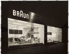 Braun's Frankfurt office, c. 1960