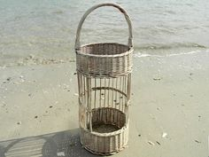 Double Decker Basket  Country Kitchen Woven by BoathouseBeach, $34.95