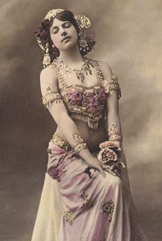 Mata Hari by photographer Paul Boyer