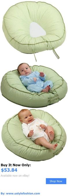 Baby Safety Sleep Positioners: Podster Sling Style Infant Seat Lounger Sage Pin Dot Customized Pport BUY IT NOW ONLY: $53.84 #ustylefashionBabySafetySleepPositioners OR #ustylefashion