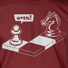 Funny Chess Geek Nerd  T-Shirt - Capture The Pawn Geek Nerd Chess Club School Kids  Mens Ladies Womens Youth. $14.99, via Etsy.
