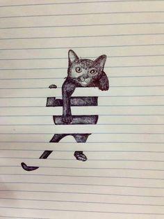 Auch katzen können auf >blöcke< klettern^^