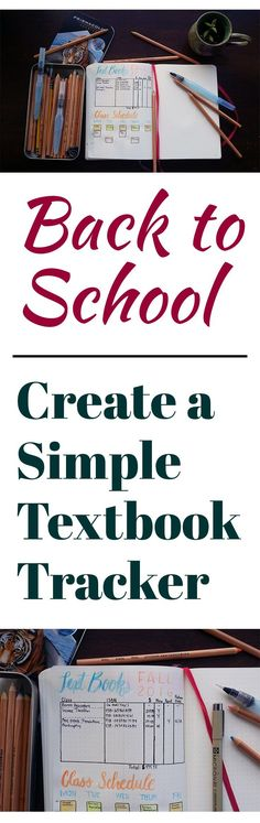 Going back to school is one of my favorite times of the year! I created a simple textbook tracker to help with finding, buying, and reselling…