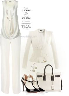 No. 913 - Scandal Fashion - Channeling Olivia Pope