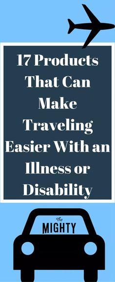 17 Products That Can Make Traveling Easier With an Illness or Disability #chronicillness #disability Chronic Fatigue Syndrome, Chronic Illness, Chronic Pain, Mental Illness, Inflammatory Arthritis, Rheumatoid Arthritis, Arthritis Exercises, Cidp, Complex Regional Pain Syndrome