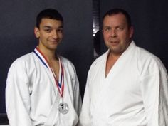 Picture taken at Biggleswade karate club. Sensei's Marcus Ingham and Linden Huckle