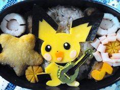 Pokemon Pichu Bento