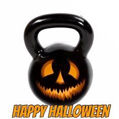 Kettlebell, Pumpkin Carving, Happy Halloween, Kettlebells, Pumpkin Carvings