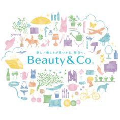 """資生堂 Beauty & Co.  自分らしく、ていねいに美しく暮らすための""""きっかけ""""がつまった美の応援サイト"""