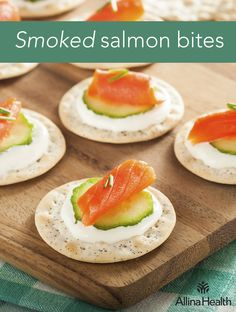 Smoked salmon bites - Omega-3 fatty acids are an essential fat, which ...