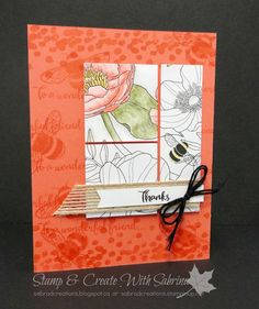 This is an exciting post for those of you that like to colour! Stampin' Up! will be bringing out Watercolour Pencils and Colouring DSP in ...