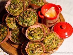 Muffins salati di spinaci e limone, Ricetta da Cookingwithmarica - Petitchef