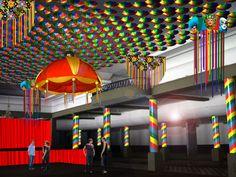 decoração de carnaval em salão - Pesquisa Google