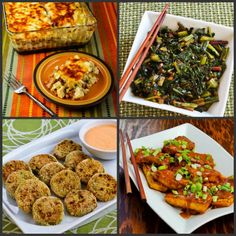 South Beach Diet Phase One Recipes Round-Up for October 2012 (For anyone who wants #LowGlycemic or #LowCarb recipes for health, weight loss, or blood sugar control, these monthly round-ups have a lot of great finds!) [from Kalyn's Kitchen and other food blogs]