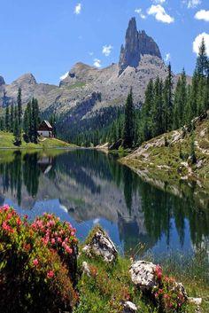 In de zomer staat de natuur in de Dolomieten in Italië in volle bloei. Een must see tijdens je roadtrip.