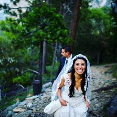 Yosemite wedding hiking