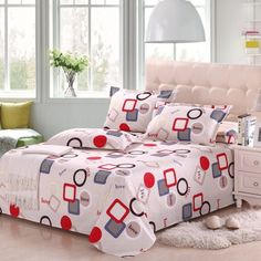 Bedrooms should be both romantic and full of energy. Gloomy bedrooms emit negative energy. So be careful in the selection of bed sheet. We share with you beautiful bed sheets in this photo gallery.