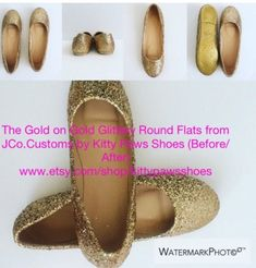 Shipping* JCo.Customs by Kitty Paws Shoes Texas Longhorns Flats Women/'s Custom Orange and White Glittered Spirit Glitter Flats *Free U.S