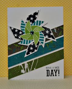 card by Lynn Darda using CTMH Later Sk8r Paper