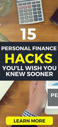15 Personal finance HACKS you can try today to save more money and make more money (with little effort).