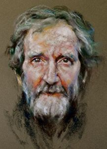 Celt by artist Margaret Ferguson. A #pastel #artwork found on the FASO Daily Art Show -- http://dailyartshow.faso.com