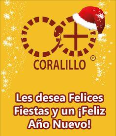 Coralillo Arte + Diseño, les desea feliz navidad y un prospero Año Nuevo.