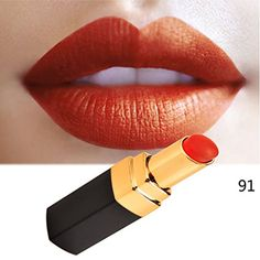 eshion Cosmetic Makeup Matte Lipstick Long Lasting Waterproof Lip Stick 12 Colors >>> Details can be found by clicking on the image.Note:It is affiliate link to Amazon.