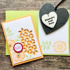 Oh So Eclectic - fresh pretty card