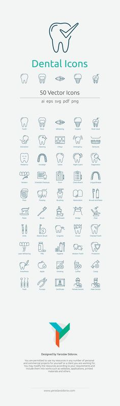Dental Icon Set in Vektor und PNG – - Zahnpflege Dental Hygiene School, Dental Life, Dental Humor, Dental Assistant, Dental Hygienist, Dental Health, Dental Icon, Dental Art, Icon Set