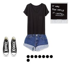 """""""Untitled #585"""" by kimberly58227 ❤ liked on Polyvore featuring rag & bone/JEAN and Converse"""