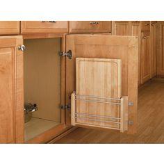 Rev-A-Shelf (Unfinished) Natural Cabinet Door Mount Kit 4Dmcb-18