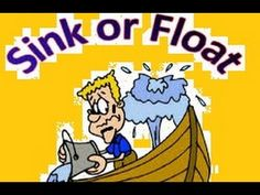 Toddlers can learn about the reason & difference between floating and sinking in this educational cartoon video.